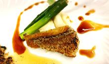 中性脂肪を下げ動脈硬化を予防する甘鯛のブールノワゼットソース