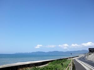 江津に向かう途中