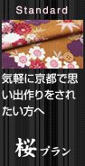 気軽に京都で思い出作りをされたい方へ【桜プラン】