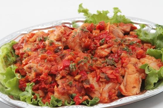鶏のトマト煮画像