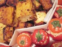 ミディトマトの玄米ファルシ