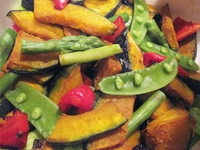 季節の野菜のバルサミコマリネ