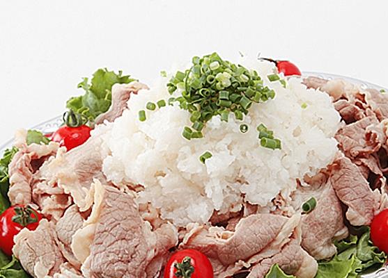 牛肉の大根おろしのせ画像