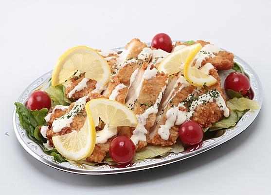 鶏のレモンソース画像