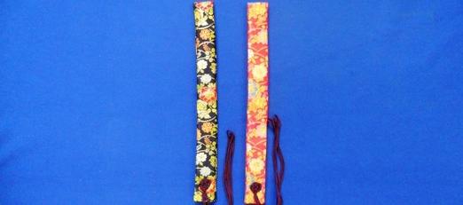 新商品 わげさ 雅金襴<br>51-323〜324 (念珠袋と同色柄)   写真1