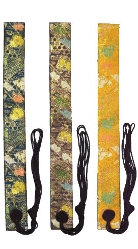 新商品 わげさ 花菱金襴<br>51-320〜322  (念珠袋と同色柄)   写真2