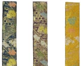 新商品 わげさ 花菱金襴<br>51-320〜322  (念珠袋と同色柄)   写真3