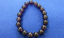 紫水晶 腕念珠(8・10・12mm) <br>98-200・201・202