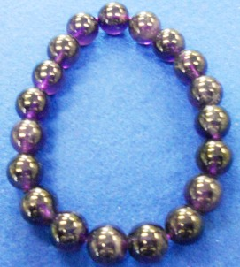 紫水晶 腕念珠(8・10・12mm) <br>98-200・201・202 写真2
