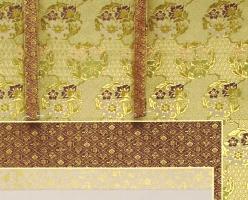 本金花王正絹表装本佛仕立て 33-250<br>透し金軸・太巻き仕様 写真2