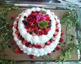 丸型ケーキ