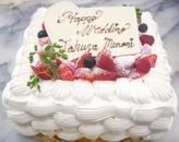 正四角型ケーキ