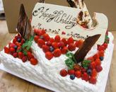 長方形型ケーキ